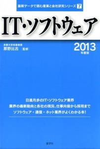 『IT・ソフトウェア──2013年度版 』